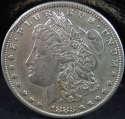 1883 S Morgan Silver Dollar Almost Uncirculated (AU) - SKU 55US