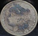 1886 O Morgan Silver Dollar Very Fine (VF) - SKU 74US