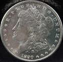 1890 S Morgan Silver Dollar Mint State (MS) - SKU 84US