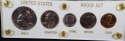 1963 Philadelphia US Mint Proof Set In Capital Holder - SKU 53MS