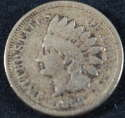 1860 Indian Head Cent Penny Very Good (VG) - SKU 62USP
