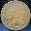 1882 Indian Head Cent Penny Fine (F) - SKU 78USP