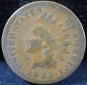 1883 Indian Head Cent Penny Good (GD) - SKU 80USP