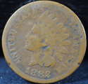 1883 Indian Head Cent Penny Good (GD) - SKU 85USP