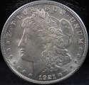 1921 P Morgan Silver Dollar Mint State (MS) - SKU 126US