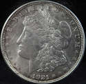 1921 P Morgan Silver Dollar Mint State (MS) - SKU 135US