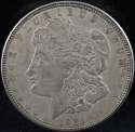 1921 D Morgan Silver Dollar Extra Fine (EF) - SKU 140US