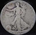 1920 P Walking Liberty Half Dollar 90% Silver About Good (AG) - SKU 63USHD