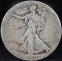1920 P Walking Liberty Half Dollar 90% Silver About Good (AG) - SKU 65USHD