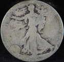 1920 S Walking Liberty Half Dollar 90% Silver About Good (AG) - SKU 68USHD