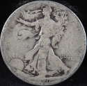 1920 S Walking Liberty Half Dollar 90% Silver About Good (AG) - SKU 72USHD
