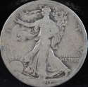 1920 S Walking Liberty Half Dollar 90% Silver About Good (AG) - SKU 74USHD