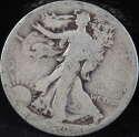 1920 S Walking Liberty Half Dollar 90% Silver About Good (AG) - SKU 75USHD