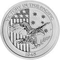 2016 1/2 oz Australia/America Silver Victory in the Pacific