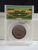 2014 S 50 cents National Baseball Hall Fame First Day of Issue PR 69 NGC