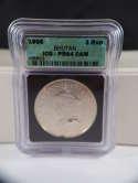 1966 Bhutan 3 Rupee Silver Proof PR 64 CAM KM 32a ICG SKU 0275G