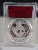 2018 China Silver Panda 35th Anniversary MS 69 PCGS SKU 428G
