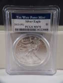 2013 W American Silver Eagle West Point MS 70 PCGS SKU 0287G