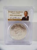 1973 S Eisenhower Dollar 40th Anniversary Silver Proof PR69 DCAM PCGS SKU 565G