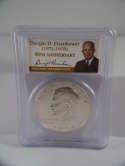 1974 S Eisenhower Dollar 40th Anniversary Silver Proof PR69 DCAM PCGS SKU 566G