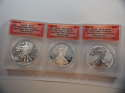 2013 W American Silver Eagle Anniversary Set First Release DCAM 70 ANACS