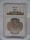 1884 O Morgan Silver Dollar MS 64 NGC SKU 655G