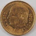 1945 Mexico Gold Dos Y Medio Pesos
