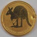 2011 1/2 gram Australia Gold Kangaroo Holed/Dent