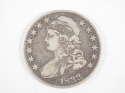 1833 P Capped Bust Lettered Edge Half Dollar Very Fine (VF) - SKU 298USHD