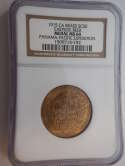 1915 CA Brass SC50 Eastside Beer Medal MS64 Panama-Pacific Exposition NGC