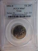 2004 D Texas Quarter Clad MS67 PCGS - SKU 794G