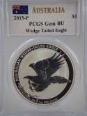2015 Australia Silver Wedge-Tailed Eagle GEM BU PCGS - SKU 841G