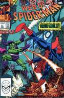 Web of Spider-Man #67 Green Goblin & Spidey Near Mint (NM) Marvel 1990 SKU 4CS