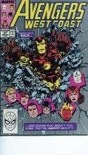 Avengers West Coast #51 Guess whos back Very Fine/Fine (VF/F) Marvel 1989 14CS