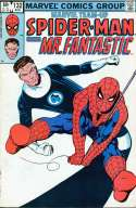 Spider-Man & Mr Fantastic #132 Teamup Very Fine/Fine (VF/F) Marvel 1983 27CS