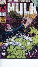 Incredible Hulk #385 Infinity Gauntlet Cross Mint / Near Mint (M/NM) Marvel 1991