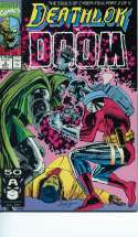 Deathlok Doom #3 Souls of cyber-folk part 2 Mint / Near Mint (M/NM) Marvel 1991