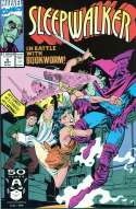 Sleepwalker #4 In a battle with Bookworm! Mint / Near Mint (M/NM) Marvel 1991