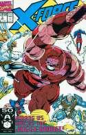 X-Force #3 Among us walks the Juggernaut! Mint / Near Mint (M/NM) Marvel 1991