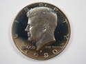 1980 S Kennedy Clad Half Dollar Proof GEM US Coin Proof (PF) - SKU 108USHDCL