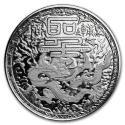 2018 1 oz Cameroon Silver Imperial Dragon BU