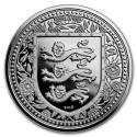 2018 1 oz Gibraltar Silver Royal Arms of England BU