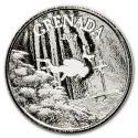 2018 1 oz Grenada Silver Diving Paradise Coin BU (In Capsule)