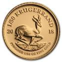 2018 1/50 oz South Africa Gold Krugerrand Proof (In Capsule)