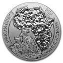 2019 1 oz Rwanda Silver African Shoebill BU