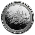 2018 1 oz St.Vincent & The Grenadines Silver Seaplane BU (In Capsule)