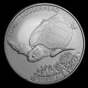 2019 1 oz Tokelau Silver $5 Loggerhead Turtle Coin (BU)