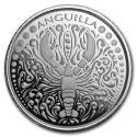 2018 1 oz Anguilla Silver Lobster (In Capsule)