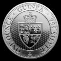 2019 1 oz St. Helena Silver Spade Guinea Shield BU