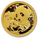2019 China 1 g Gold Panda BU (Sealed)